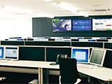弊社発電監視センター